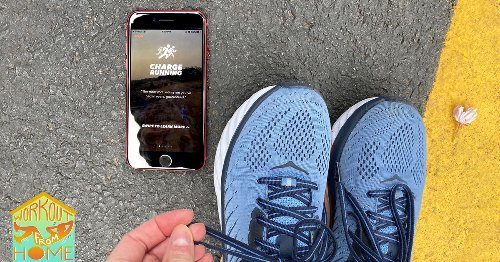 The Charge Running app is the perfect cure for those self-distancing blues