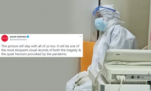 Amid COVID-19 Surge, Viral Thread About Exhausted Nurse In PPE Kit Leaves Twitter In Tears