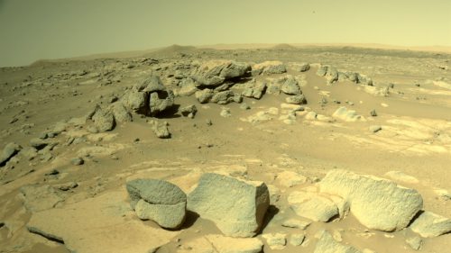 NASA's Mars rover is back in action after two weeks of silence