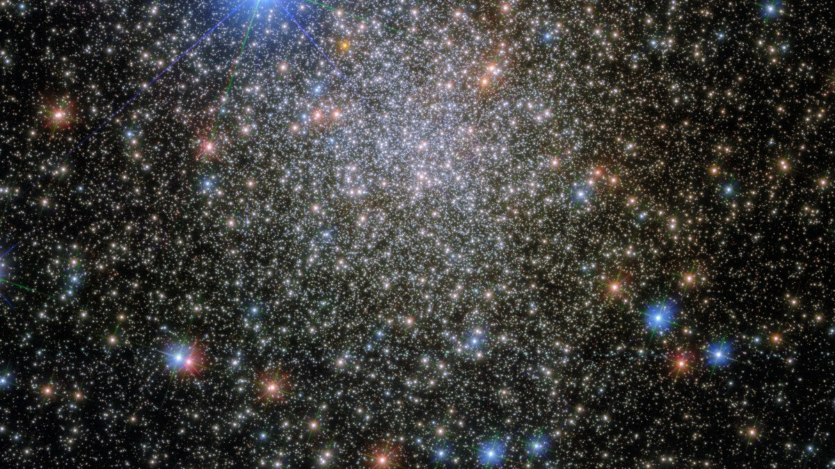Say hello to the crowded starscape in NASA's new Hubble image share