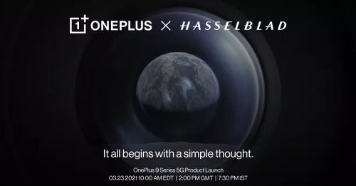 OnePlus 9 is coming in 2 weeks, with a Hasselblad-tuned camera