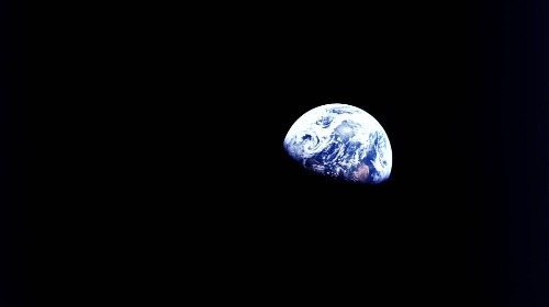 NASA Digs Deep Into The Archives For A Peaceful View Of Earth From Half A Century Ago