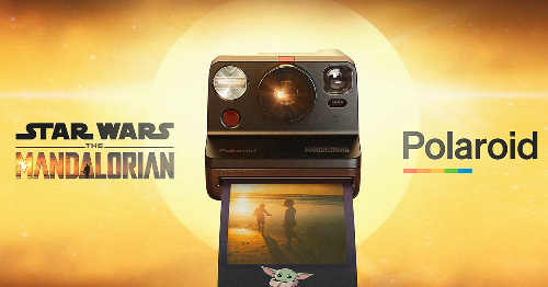 'The Mandalorian' Polaroid camera puts Baby Yoda in the corner...of your photos