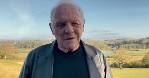 Sir Anthony Hopkins pays tribute to Chadwick Boseman in Oscar acceptance speech