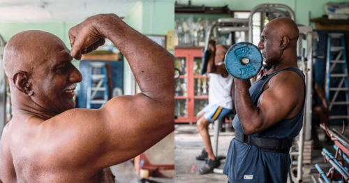 This Malaysian bodybuilder is 72 years old and still fit as hell