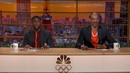Snoop Dogg's reaction to fancy horse walking at the Olympics is perfect