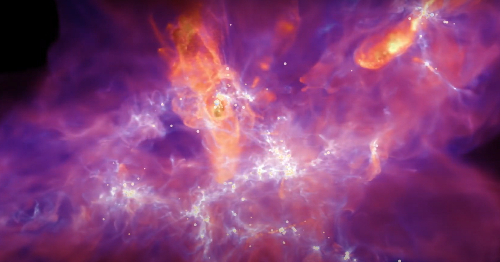 Watch a spectacular star creation video made by astronomers