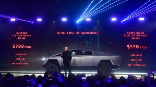 Tesla wipes Cybertruck details from its website following delay into 2022