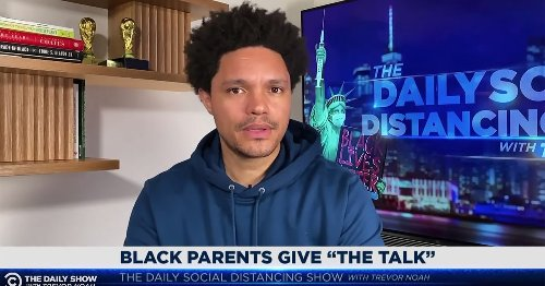 Trevor Noah breaks down 'the talk' Black parents are giving their children about police