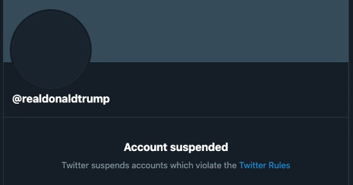 It Finally Happened: Twitter Suspends Donald J. Trump. Permanently.