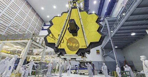 See the colossal James Webb Space Telescope unfurl its giant, golden mirrors