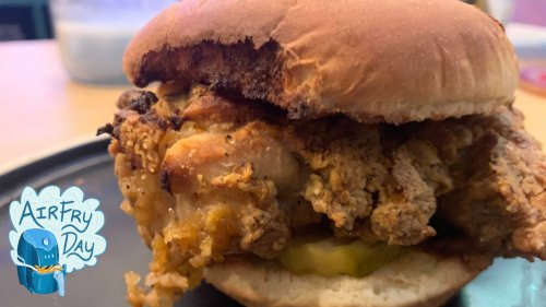 An air fryer fried chicken sandwich recipe that won't leave you disappointed