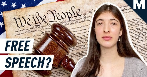 What Actually Constitutes Free Speech Under the First Amendment?