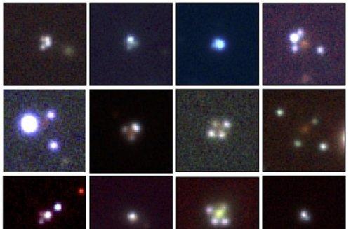Astronomers Discover A Dozen Extremely Rare Einstein Crosses Using ESA Gaia!