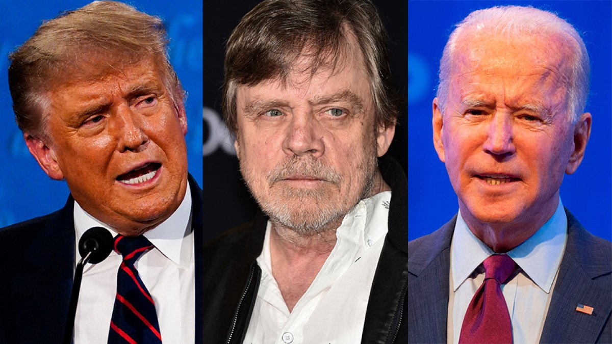 Mark Hamill drops the mic on the Biden-Trump debate with a tweet about Star Wars