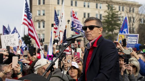 QAnon believers don't know how to handle Michael Flynn's ties to spyware firm behind Pegasus
