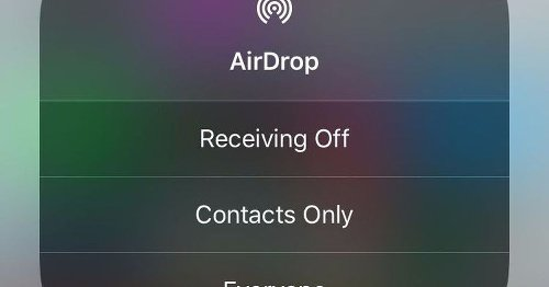Why iPhone owners should turn off AirDrop. Now.