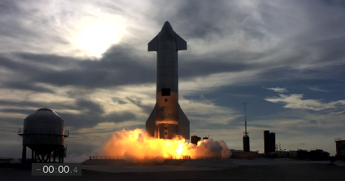 Watch the SpaceX Starship prototype successfully land (and then explode)