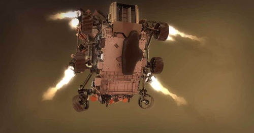 See how the Mars Perseverance rover will navigate the '7 minutes of terror' landing