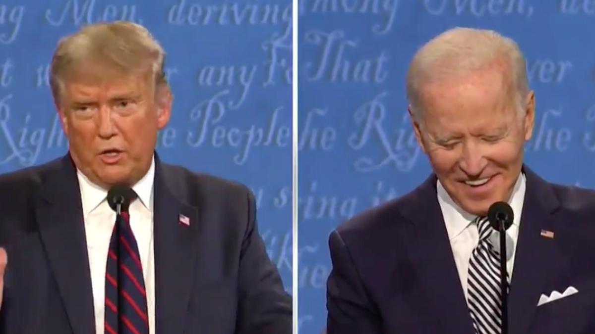 Biden asks Trump what everyone's thinking: 'Will you shut up, man?'