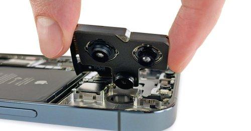 Teardown of iPhone 12 Pro Max reveals big battery, big camera sensor