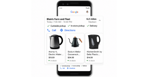 Google Search features new tool for pandemic shopping