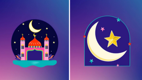 Meet the Bahraini artist behind Instagram's new Ramadan stickers