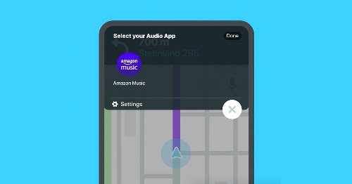 Waze brings Amazon Music into its app
