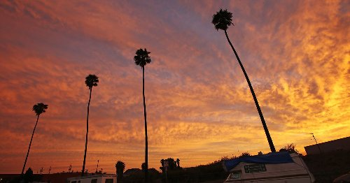 Clouds are disappearing in Southern California, and we're not totally sure why