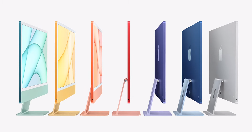Apple announces all-new colorful iMacs with its M1 chip