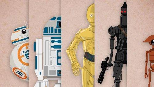 Beep boop beep: An interactive, animated droid encyclopedia