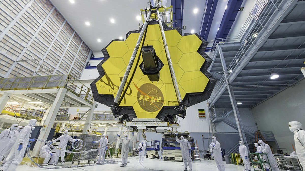 See the colossal James Webb space telescope unfurl its huge mirrors