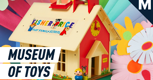 Rediscover your favorite childhood toys in Fisher-Price's virtual toy museum