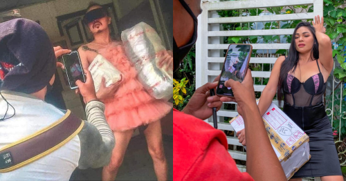 Filipinos strut their stuff in hilarious 'proof of delivery' photos