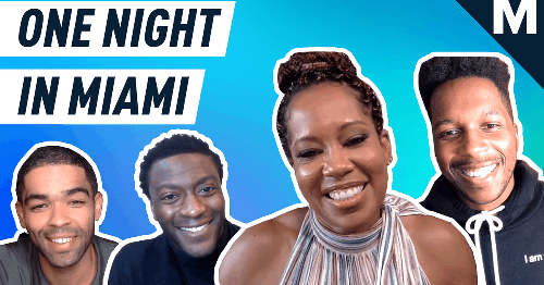 The cast of 'One Night in Miami' on the power of Black voices