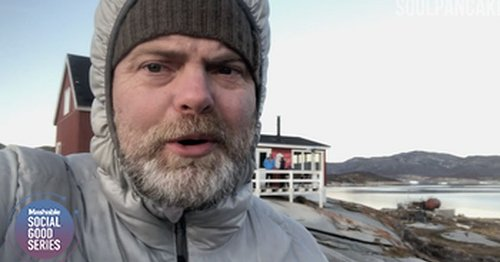 Rainn Wilson wants you to get serious about the fight against climate change