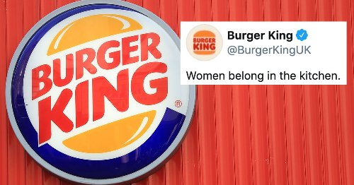 Burger King had a really bad tweet for International Women's Day