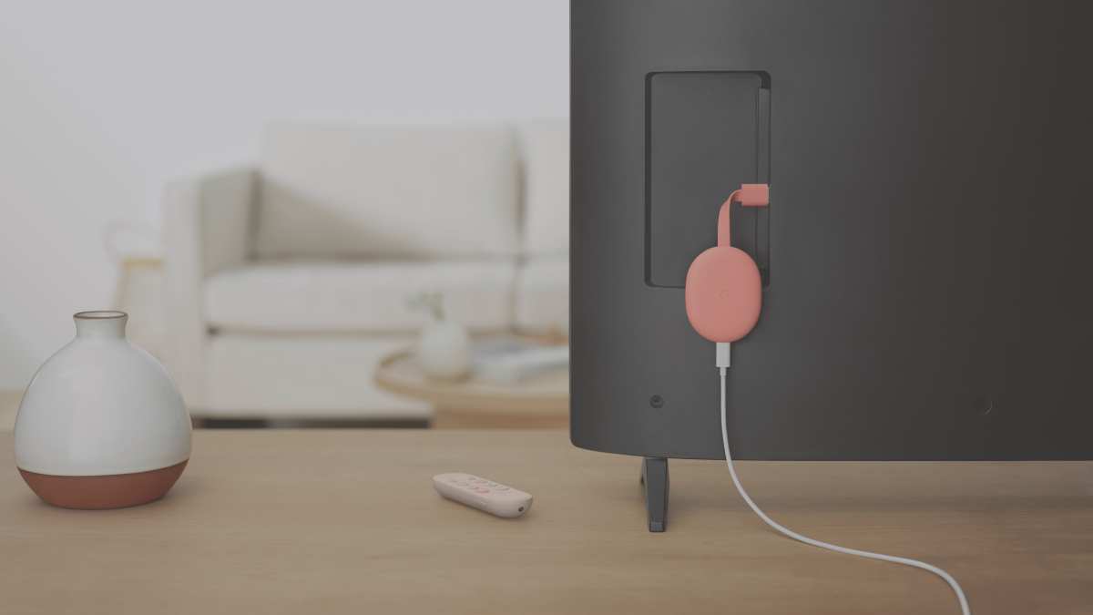 Google's new Chromecast has a remote and an interface called Google TV