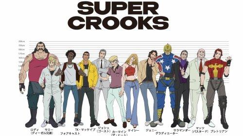 Netflix 'Super Crooks' trailer: An anime take on a Mark Millar comic