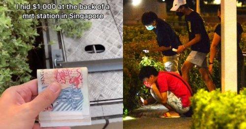 Cash hidden in bushes prompts 'treasure hunts' among Singaporeans