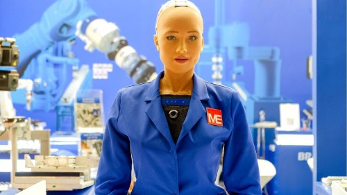 Firm behind Saudi's humanoid citizen Sophia aims to sell thousands of robots in 2021