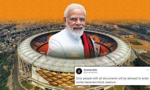 Motera Stadium Is Renamed To Narendra Modi Stadium And Twitter Has A Lot Of Opinions