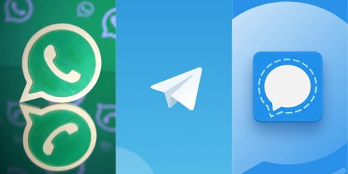 WhatsApp vs. Telegram vs. Signal: Which one should you use in 2021?