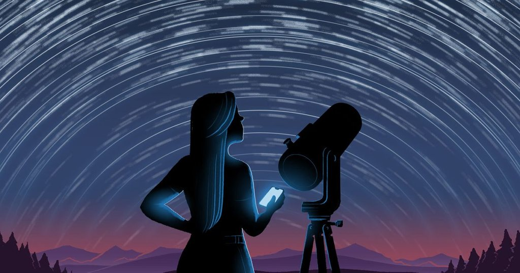 Amateur Astronomy - cover