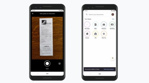 Google Launches A Cool New Document Scanner Called Stack