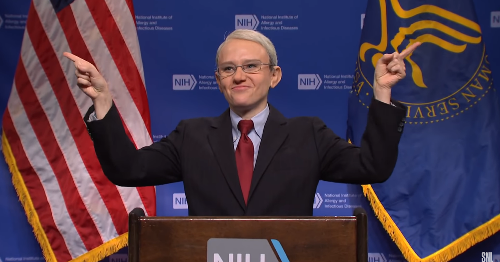 'SNL' brings out Fauci and CDC actors to explain the new masking guidelines, poorly
