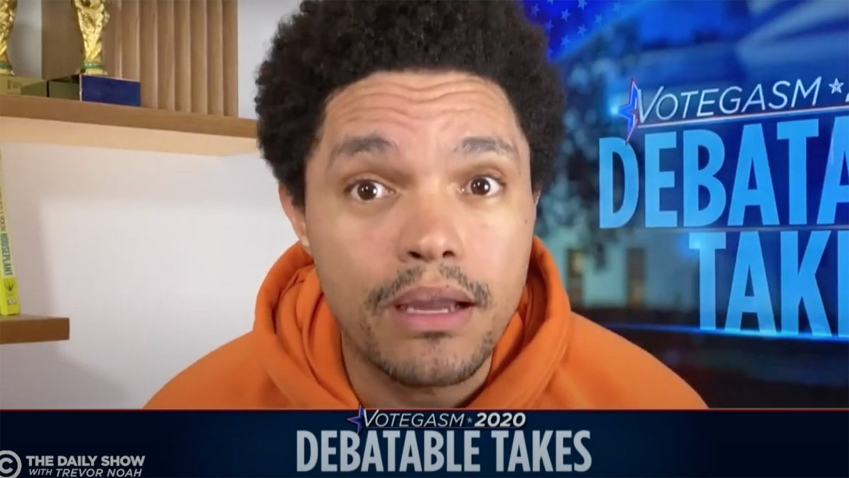 Trevor Noah's reaction to the Biden-Trump debate is so much better than the actual thing