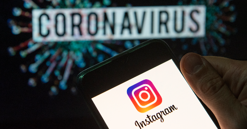 Instagram meme account with 14 million followers banned for coronavirus scam