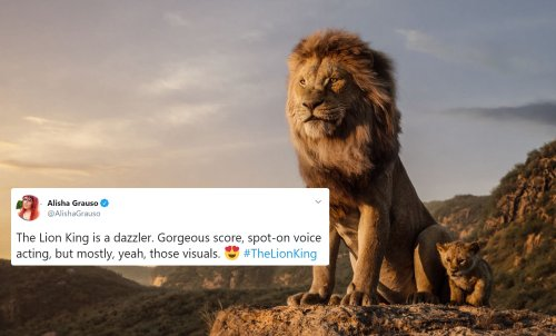 Early Reactions Praise 'The Lion King' For Being A Roaring Visual Masterpiece