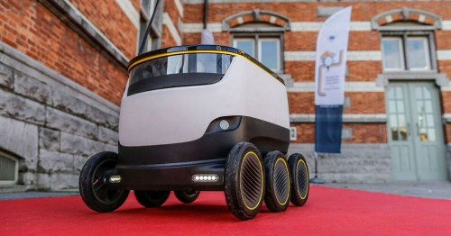 Self-driving robots to start delivering packages in the UK, Germany and Switzerland
